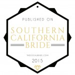 published on Southern California Bride