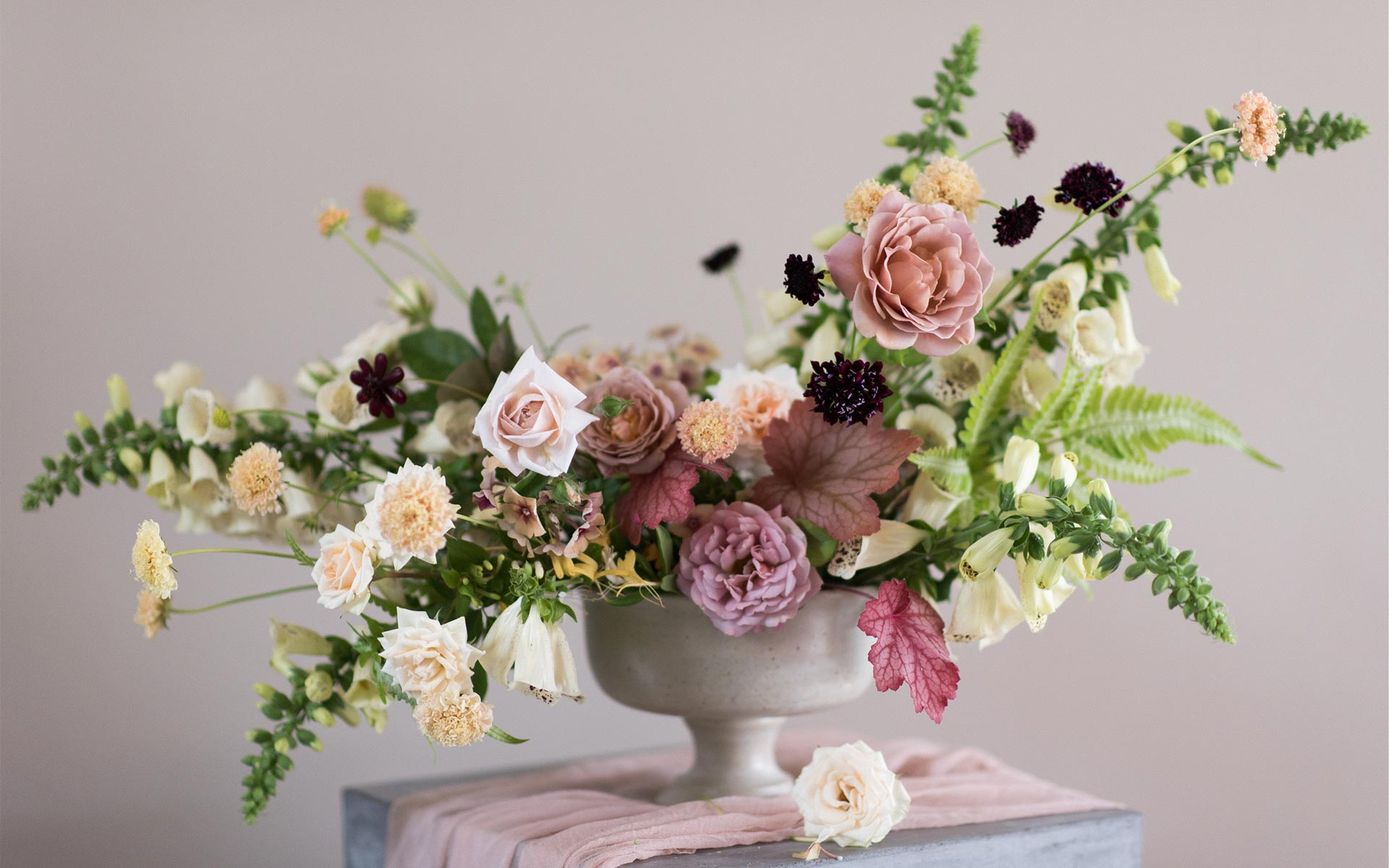 Santa Barbara Florist specializing in wedding flowers, floral design, ceremony and reception flowers